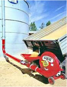 Grain conveyor pneumatic T-378