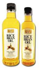 Oil from rice bran of TM World's rice