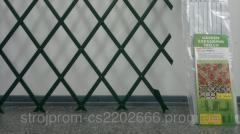 Подставка для растений 1х2м белая,зеленая пергола