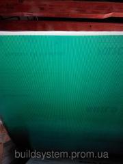 Поликарбонат сотовый 8мм зеленый