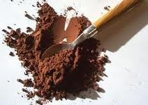 Alkalized cocoa. Spices, seasonings and food