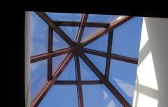 Atrium from polycarbonate