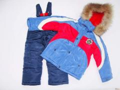 Overalls for the boy a winter halofayber of Rihoo