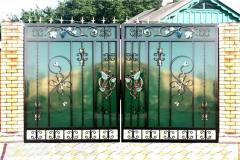 Polycarbonate fences. Fences