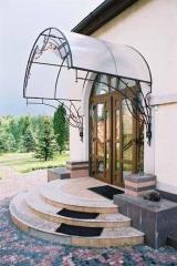 Entrance group of polycarbonate