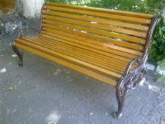 Паркови пейки