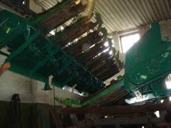 Installation of the rezhushche-crushing devices