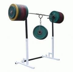Штанги и аксессуары для тяжелой атлетики. Большой