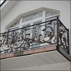 The balcony is shod