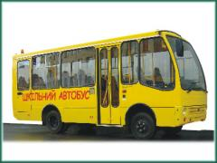 The school bus Bogdan A06904, engine displacement