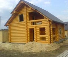 Cottages wooden (log-house)