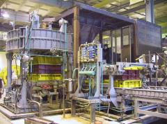 Site automatic forming for production of casting