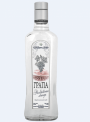 Grape vodka Grappa