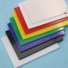 Sheet of polystyrene