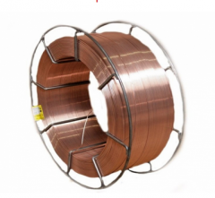 Wire welding copperplated SV08G2S of GOST 2246-70