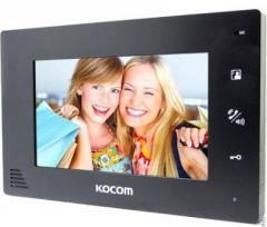 Видеодомофон цветной Kocom KCV-A374 black