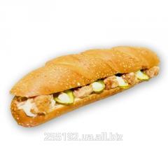 Готовые сэндвичи - охлажденные, с различной мясной