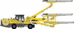 Буровой перфоратор для производства строительного