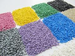 Secondary granules of high-pressure polyethylene