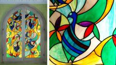 Stained-glass windows cheap Kharkiv Ukraine