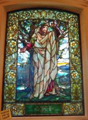 Tiffany's stained-glass windows from the