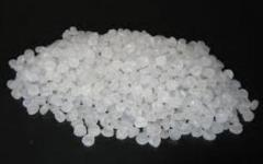 Polyethylene granulate secondary