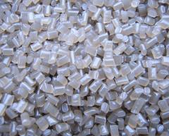Granules are polyvinyl chloride