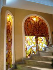 Stained-glass windows from the producer Kharkiv
