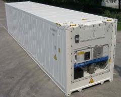 Морской контейнер с морозильником 40 футов