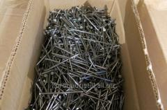 Nails with a conic corrugated head of GOST 4028-63