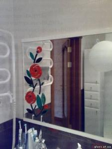 The exclusive decorated mirrors, dressing of