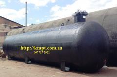 Резервуар для сжижених углеводородних газів (СУГ) 25 м.куб