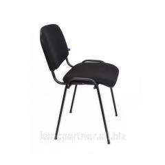 Стілець на рамі ISO BLACK V-4 к/з (чорний)