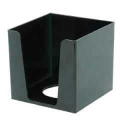 415103 Пенал для паперу,85*85*80мм,пласт.,чорний