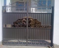 Ворота кованые, Ворота кованые в Севастополе,