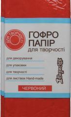 Бумага гофр.красн.55% (50см*200см)