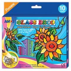 330080 Набір д/дитячої творчості Amos Glass Deco