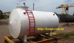 Резервуар для Мини АЗС, наземный, двухстенный