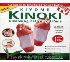 Toksinovyvodyashchy plasters of Kinoki