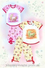 Пижама детская весна лето