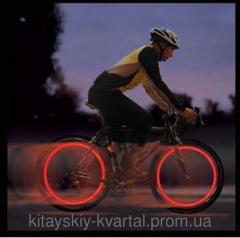 Подсветка на спицы для велосипеда
