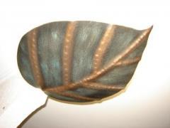 Люстра кованая(Яблочный лист)