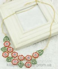 Нежное ожерелье Цветы tb707