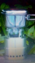 Портативная мини печка - плитка на твердом топливе