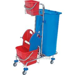 The cart for cleaning of rooms 01.20.120.CH