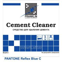 Means for cleaning after repair of CEMENT CLEANER