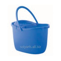 Bucket with the squeezing mechanism, 15 l.