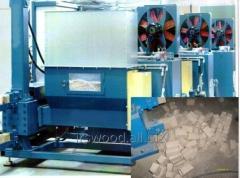 Press briquette hydraulic RUF type