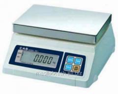 CAS SW-5D scales