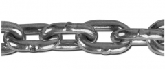 Steel short link chains